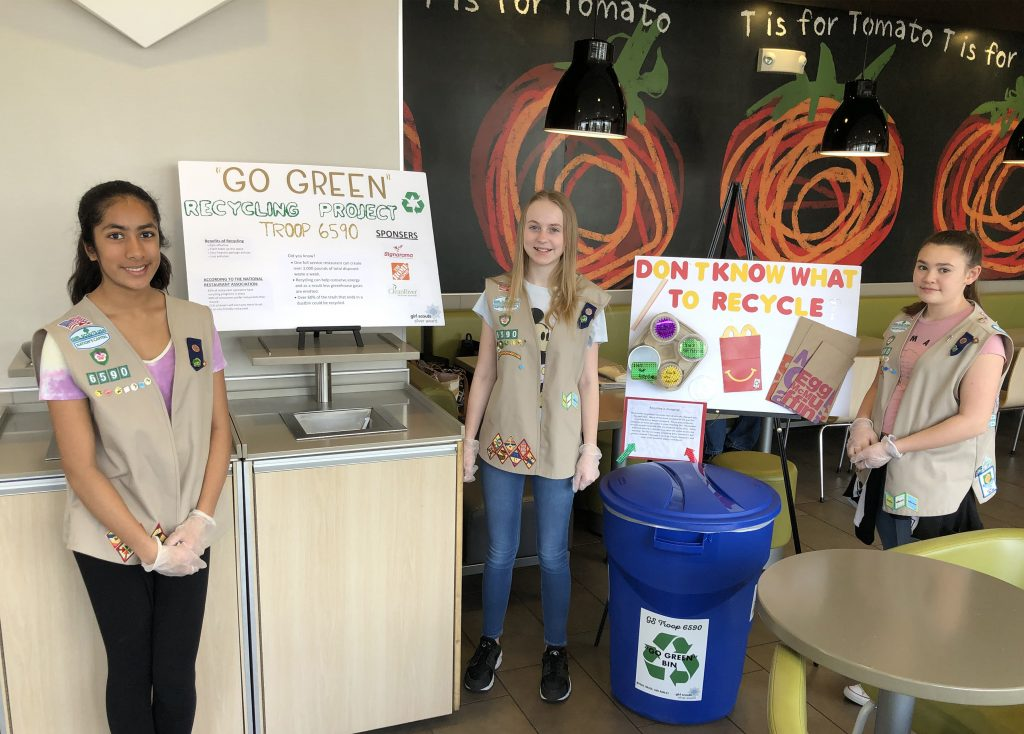 Girl Scouts Recycling - 14112 - Mar 30 2019